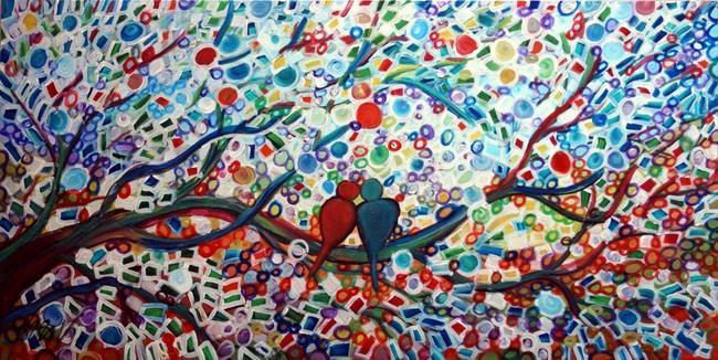 Art: Wedding Day by Artist LUIZA VIZOLI