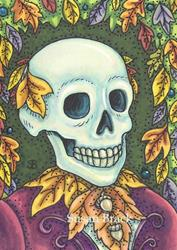 Art: DEAD LEAF SOCIETY by Artist Susan Brack
