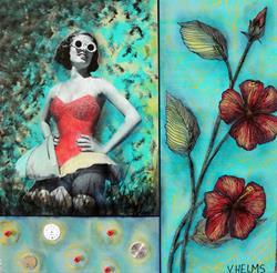 Art: Betty Lou by Artist Vicky Helms