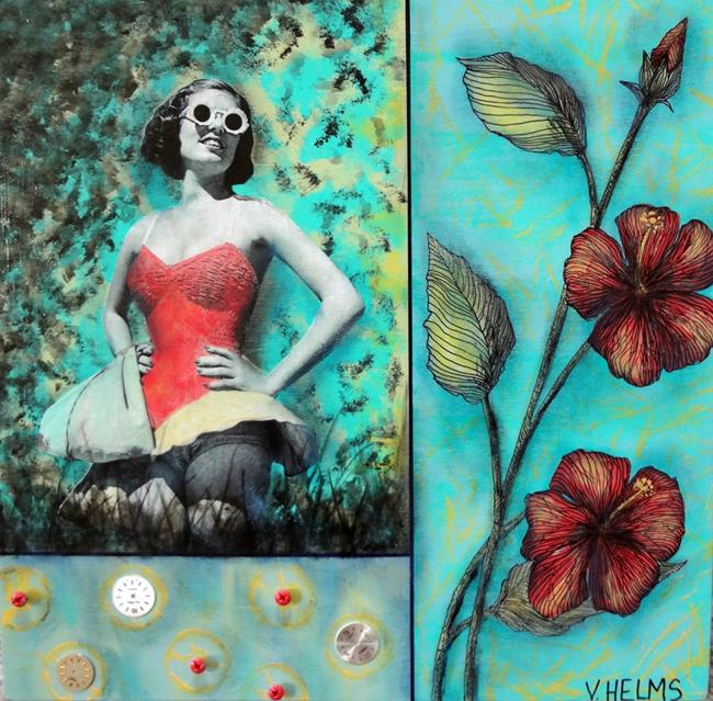 Art: Betty Lou by Artist Vicky Helms