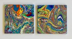 Art: Tiles by Artist Ulrike 'Ricky' Martin