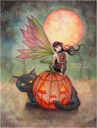 Art: halloweenpixiefull by Artist Molly Harrison
