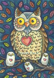 Art: WHO LOVES YA BABY? by Artist Susan Brack