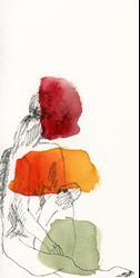 Art: Red, Orange, Green by Artist Gabriele M.
