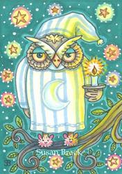 Art: GOOD NIGHT by Artist Susan Brack