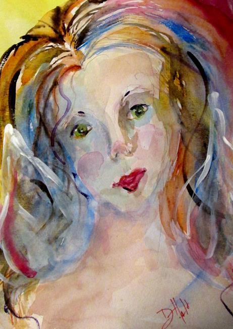 Art: Angel by Artist Delilah Smith