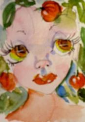 Art: Halloween Fairy by Artist Delilah Smith