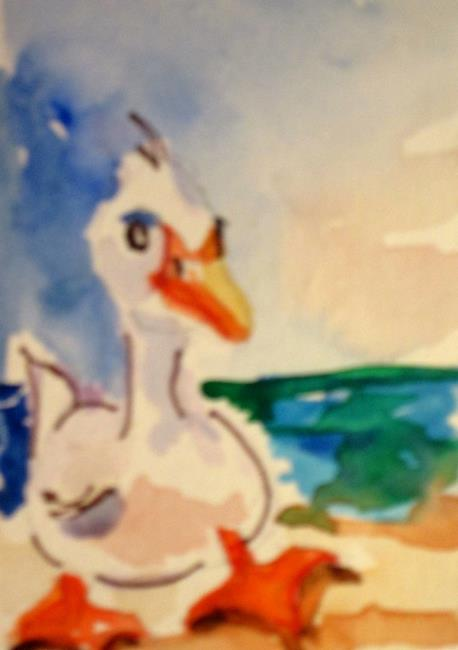 Art: Duck by Artist Delilah Smith