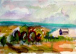 Art: Landscape No. 3 by Artist Delilah Smith