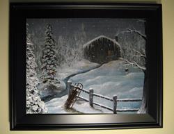 Art: 127 Christmas Morning1 by Artist J A Blackwell