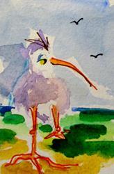 Art: Sea Tern by Artist Delilah Smith