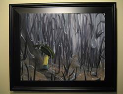 Art: 130 Raining in Wonderland1 by Artist J A Blackwell