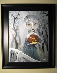 Art: 75 Halloween is Near1 by Artist J A Blackwell