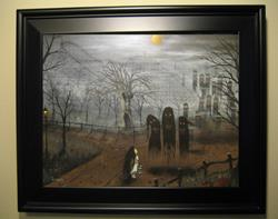 Art: 139 Tale Of A Hallows Eve1 by Artist J A Blackwell