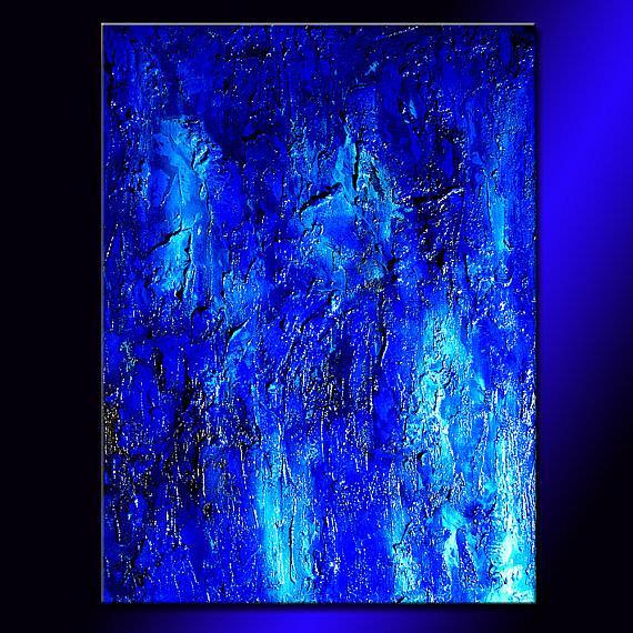 Art: Blue Lagoon 42 by Artist HENRY PARSINIA