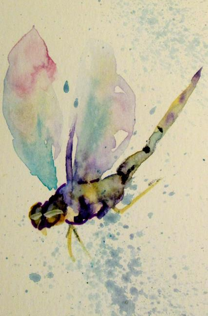 Art: Dragonfly-sold by Artist Delilah Smith