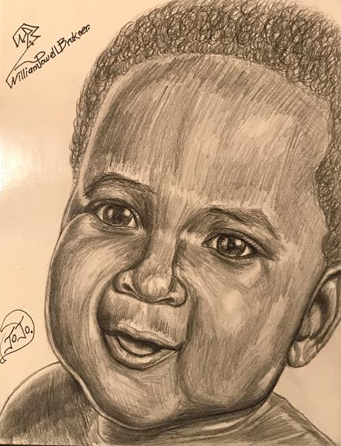 Art: JOJO. by Artist William Powell Brukner