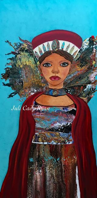 Art: Indomitable by Artist Juli Cady Ryan