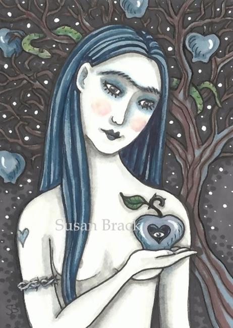 Art: DARK SIDE OF EDEN by Artist Susan Brack