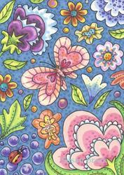 Art: FLORIBUNDA by Artist Susan Brack