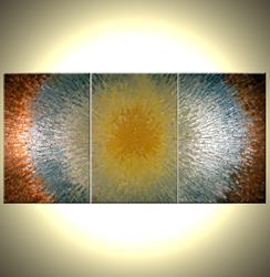 Art: GOLD REFLECTIONS by Artist Daniel J Lafferty