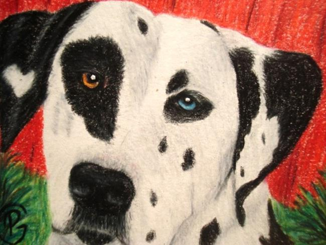 Art: Dalmation by Artist Pamela Godwin Manning