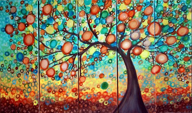 Art: OLIVE TREE custom by Artist LUIZA VIZOLI
