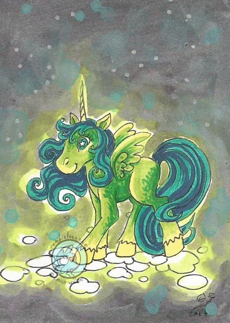 Art: Glow Pony by Artist Emily J White