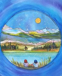 Art: Breathe by Artist Kathy Crawshay
