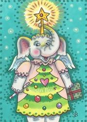Art: ELLIE'S CHRISTMAS PLAY by Artist Susan Brack