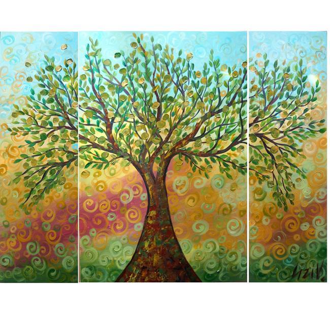 Art: OLIVE TREE by Artist LUIZA VIZOLI