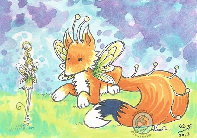 Art: Paws + Pixie by Artist Emily J White