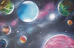 Art: Planets Galore by Leonard G. Collins by Artist Leonard G. Collins