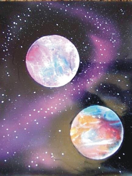 Art: Space the Final Frontier by Leonard G. Collins by Artist Leonard G. Collins