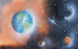 Art: Earth Painting by Leonard G. Collins by Artist Leonard G. Collins