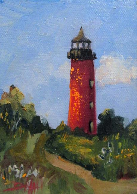 Art: Light House No. 2 by Artist Delilah Smith