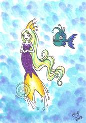 Art: Princess by Artist Emily J White