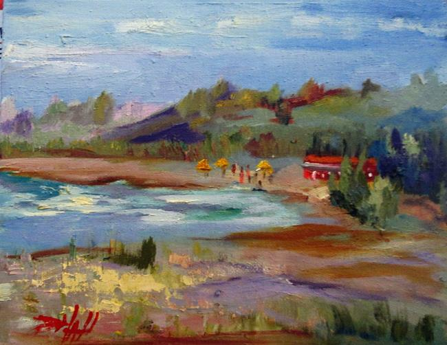 Art: A View of the Cannery by Artist Delilah Smith