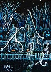 Art: Mr & Mrs Mummys House  (SOLD) by Artist Monique Morin Matson