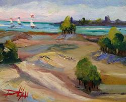 Art: High on the Dunes by Artist Delilah Smith