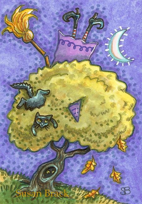 Art: BROOM MALFUNCTION by Artist Susan Brack