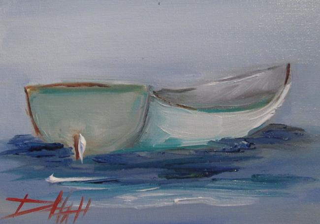 Art: Row Boat No. 4 by Artist Delilah Smith