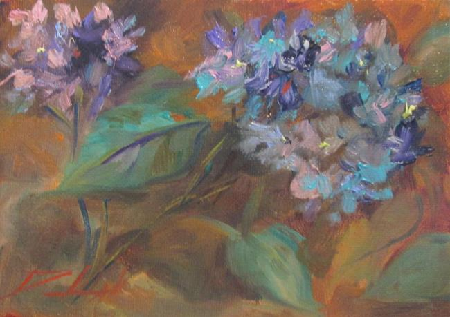 Art: Hydrangea No.3 by Artist Delilah Smith