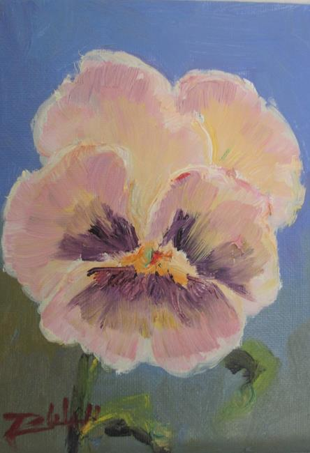 Art: Pansy No. 3 by Artist Delilah Smith
