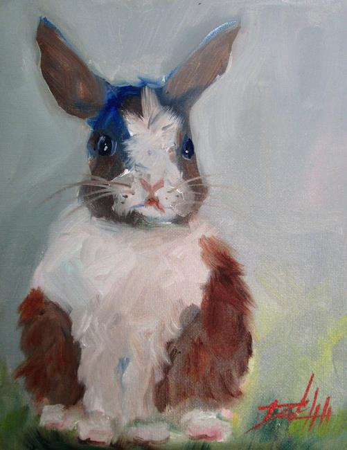 Art: Little Bunny No. 2 by Artist Delilah Smith