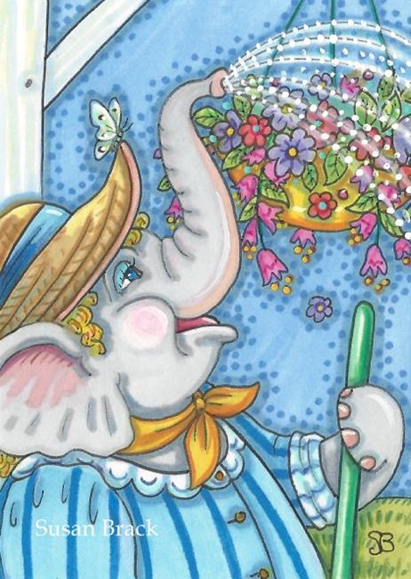 Art: A SPRINKLE A DAY by Artist Susan Brack