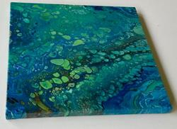 Art: Fluid Acrylic Abstract - sold by Artist Ulrike 'Ricky' Martin