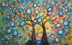 Art: Summer Wishes Olive Tree by Artist LUIZA VIZOLI