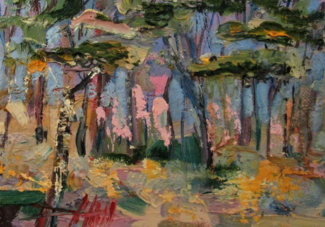 Art: Trees by Artist Delilah Smith