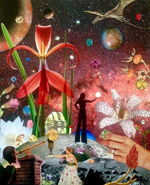 Art: Observatory by Artist Shawn Marie Hardy